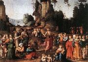 BACCHIACCA The Preaching of Saint John the Baptist oil painting picture wholesale
