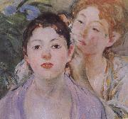 Berthe Morisot Detail of Embroider oil painting picture wholesale