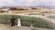 Berthe Morisot View of Paris from the Trocadero oil painting picture wholesale