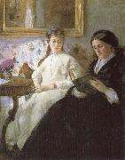 Berthe Morisot The mother and sister of the Artist oil painting picture wholesale