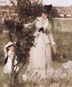 Berthe Morisot Detail of Hide and seek oil painting picture wholesale