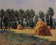 Claude Monet Haystacks at Giverny oil painting reproduction