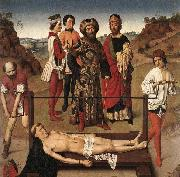 Dieric Bouts Martyrdom of St Erasmus oil painting picture wholesale