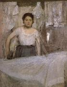 Edgar Degas Woman ironing oil painting picture wholesale