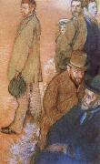 Edgar Degas Six Friends of t he Artist oil painting picture wholesale