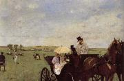 Edgar Degas A Carriage at the Races oil painting picture wholesale