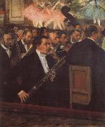 Edgar Degas The Opera Orchestra oil painting picture wholesale