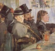 Edouard Manet At the Cafe oil painting picture wholesale