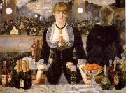 Edouard Manet A Ba4 at the Folies-Bergere oil painting picture wholesale