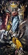 El Greco The Virgin of the Immaculate Conception oil painting picture wholesale