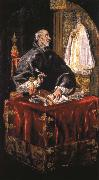 El Greco St Jerom as Cardinal oil painting picture wholesale