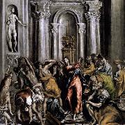 El Greco The Purification of the Temple oil painting picture wholesale