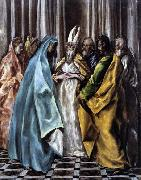 El Greco The Marriage of the Virgin oil painting picture wholesale