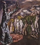 El Greco The Vision of St John oil painting picture wholesale