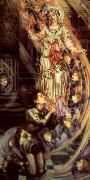 Evelyn De Morgan Our Lady of Peace oil painting picture wholesale