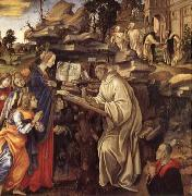 Filippino Lippi The Vison of Saint Bernard oil painting picture wholesale