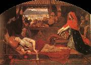 Ford Madox Brown Lear and Cordelia oil painting picture wholesale
