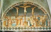 Fra Angelico Crucifixion and Saints oil painting picture wholesale