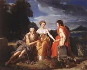 Francesco Simonini The Three ages of Man oil painting picture wholesale