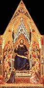 GIOTTO di Bondone Christ Enthroned oil painting picture wholesale