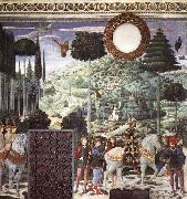 GOZZOLI, Benozzo Procession of the Middle King oil painting picture wholesale