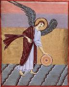 GUARIENTO d Arpo Angel with Millstone oil painting picture wholesale
