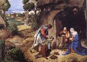 Giorgione Herd worship oil painting picture wholesale