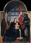 HOLBEIN, Hans the Younger The Solothurn Madonna oil painting picture wholesale