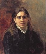 Ilya Repin Portrait of Towo oil painting