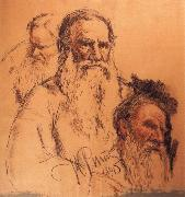 Ilya Repin Repin-s  pencil sketch Sweden oil painting artist