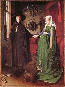 Jan Van Eyck The couple Arnolfinis brollop oil painting picture wholesale
