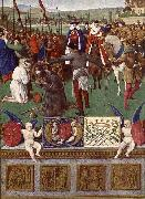 Jean Fouquet The Martyrdom of St James the Great oil