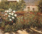 John Leslie Breck Garden at Giverny oil painting artist