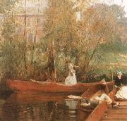 John Singer Sargent The Boating Party oil painting picture wholesale