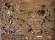 Jules Pascin Sogeladi-s disciple and callet oil painting picture wholesale