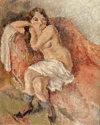 Jules Pascin Susan near the sofa oil