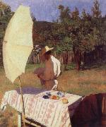 Karoly Ferenczy October oil painting artist
