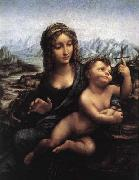 LEONARDO da Vinci Madonna with the Yarnwinder after 1510 oil painting picture wholesale