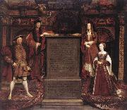 Leemput, Remigius van Henry VII, Elizabeth of York, Henry VIII, and Jane Seymour oil painting artist