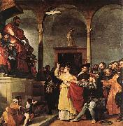 Lorenzo Lotto St Lucy before the Judge oil painting picture wholesale