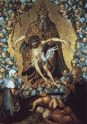 Lucas  Cranach The Trinity oil painting picture wholesale