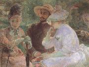 Marie Bracquemond On the Terrace at Sevres oil painting picture wholesale