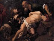 ORRENTE, Pedro The Sacrifice of Isaac oil painting artist