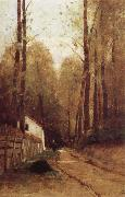 Pataky, Laszlo Parth in the Woods of Fontainebleau oil painting artist