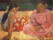 Paul Gauguin Two Women on the Beach oil painting picture wholesale