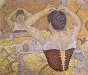 Paul Signac Woman Taking up Her Hair oil painting picture wholesale