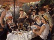 Pierre Renoir The Luncheon of the Boating Party oil painting picture wholesale