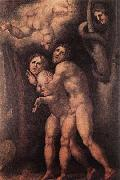 Pontormo, Jacopo The Expulsion from Earthly Paradise oil painting picture wholesale