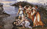 RAFFAELLO Sanzio Moses Saved from the Water oil painting picture wholesale