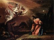 RICCI, Sebastiano Prayer in the Garden oil painting picture wholesale